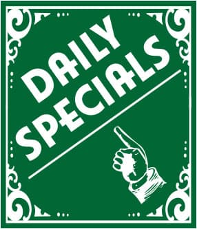 Pat's Pizza Yarmouth Daily Specials